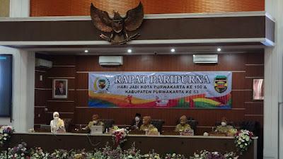 Hari Ini DPRD Purwakarta Gelar Rapat Paripurna Peringatan Hari Jadi Purwakarta Tahun 2021