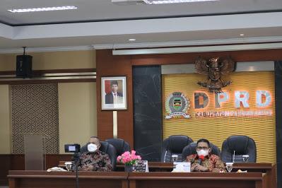 Ketua DPRD Purwakarta Pimpin Rapat BANMUS Penetapan Pelaksanaan Hari Jadi Purwakarta 2021