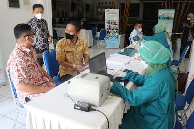 Pimpinan dan Anggota DPRD Purwakarta Laksanakan Medical Chek-Up