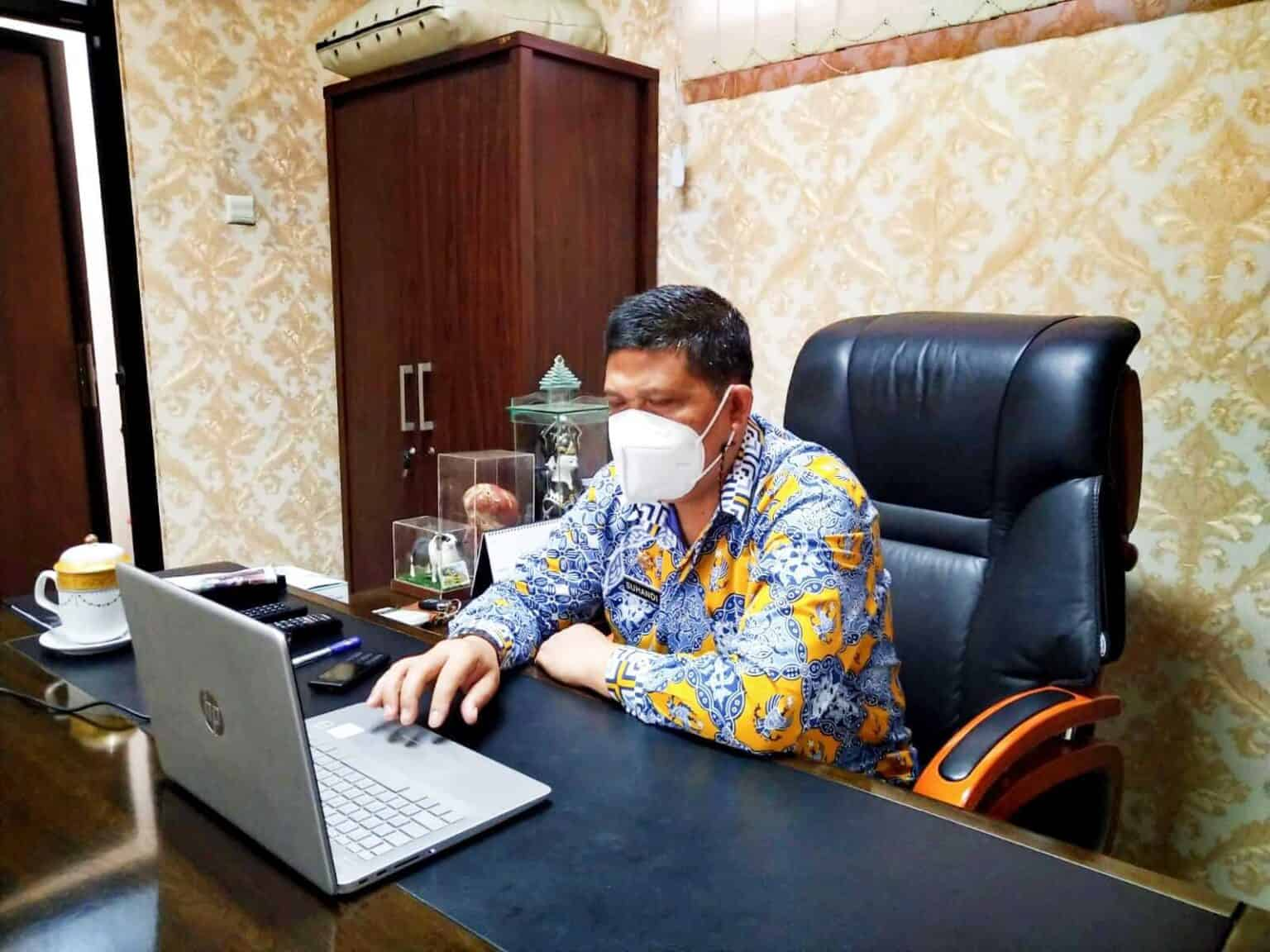 Sekretaris DPRD Purwakarta Ikuti Pemilihan ASDEKSI DPD Jawa Barat Melalui Zoom Meeting